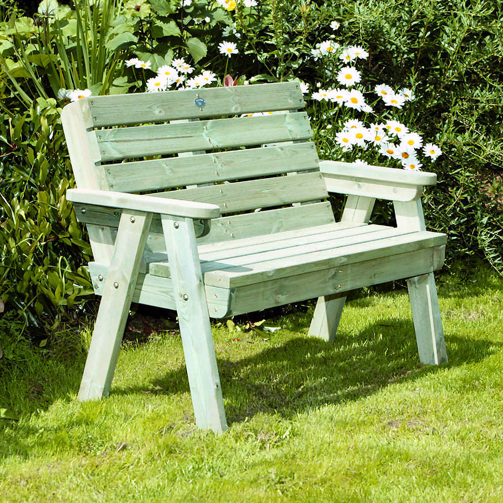 Hutton Dean 2 Seater Bench - Click for more information