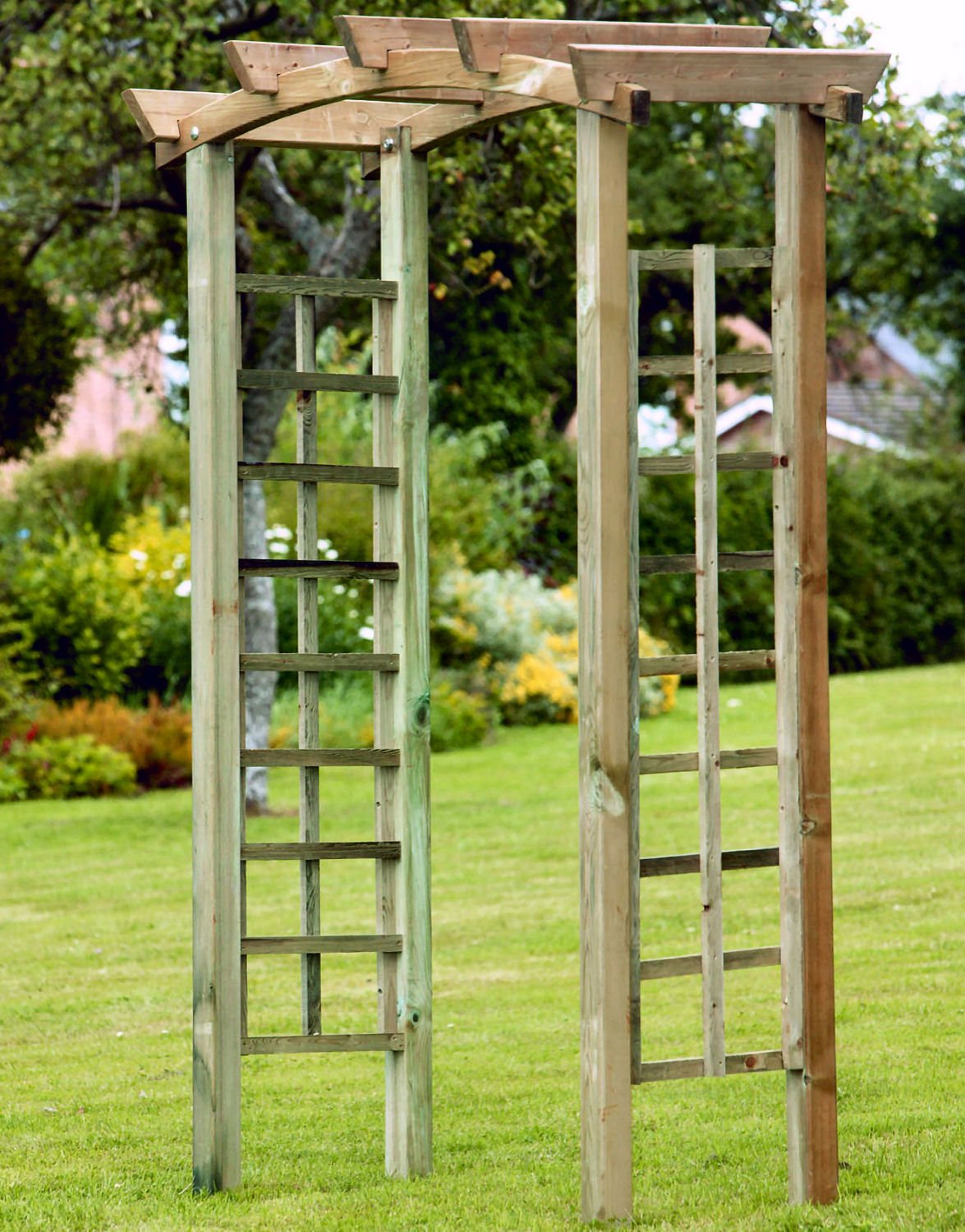 Arbours arches taunton somerset taunton sheds toys for Garden arches designs