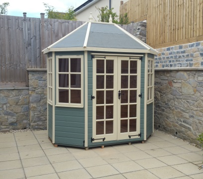 Painted 8 x 6 Lichfield Summerhouse