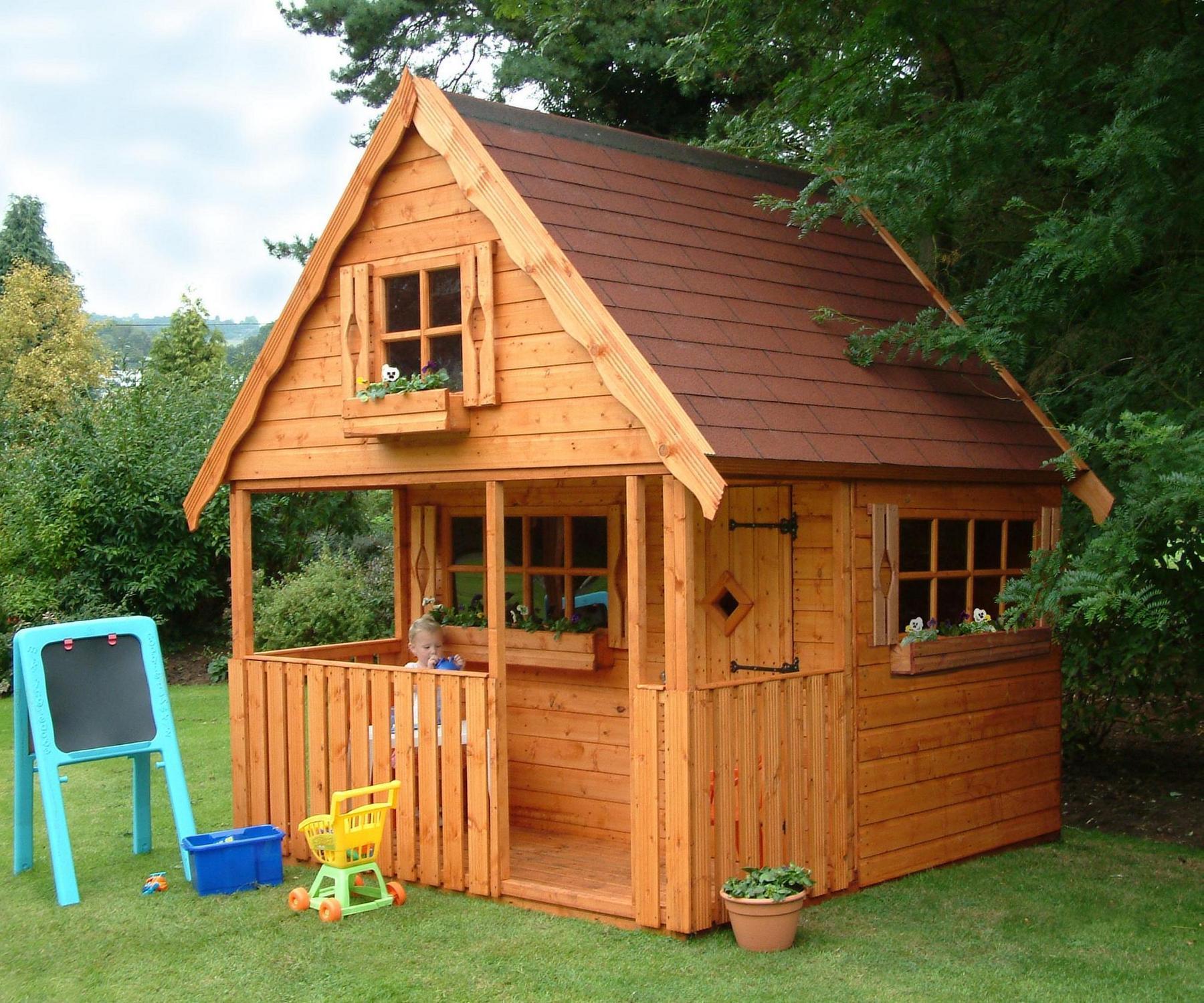 Playhouses taunton somerset taunton sheds toys for Children s garden sheds