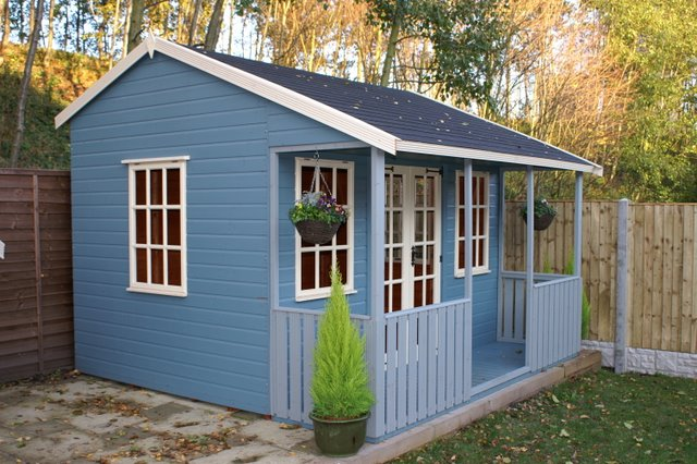 Traditional SUMMERHOUSES - MILFORD shown here factory painted