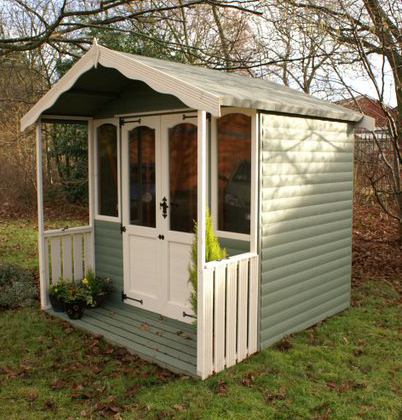 REGENT Summerhouse with optional Verandah - factory painted